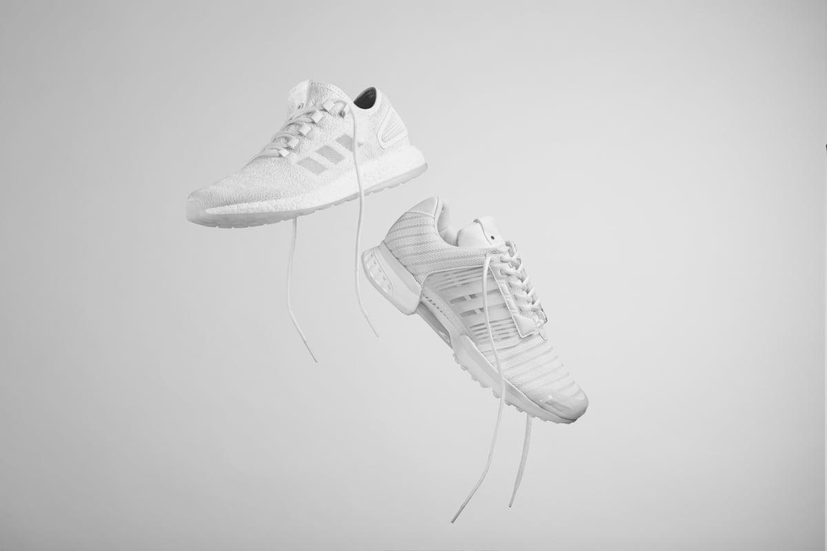 # adidas 球鞋交換計畫:美澳致命水母的綠光呈現 1
