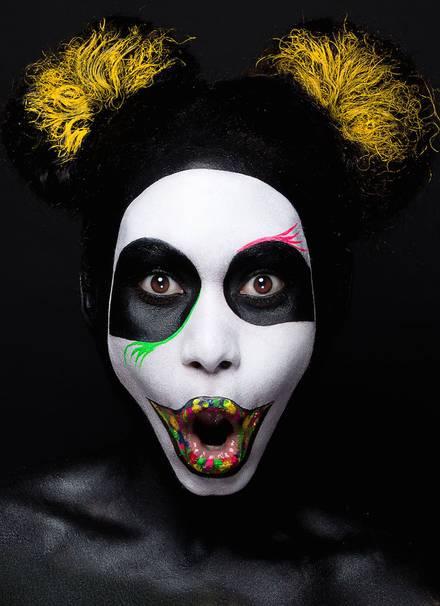 #Face Painting:驚人的日本波普藝術 3