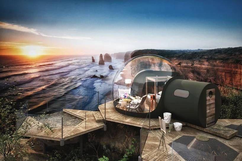 # 360 度全透明泡泡小屋仰望浩瀚星空夜景:就在北愛爾蘭的芬恩湖度假村上 1