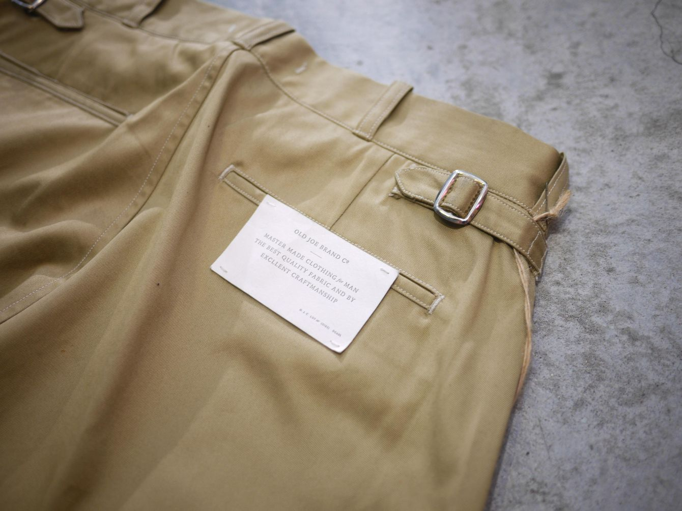 Classic Works:【我的探索之路-Old Joe Hard Westpoint Gurkha Trouser 】 5