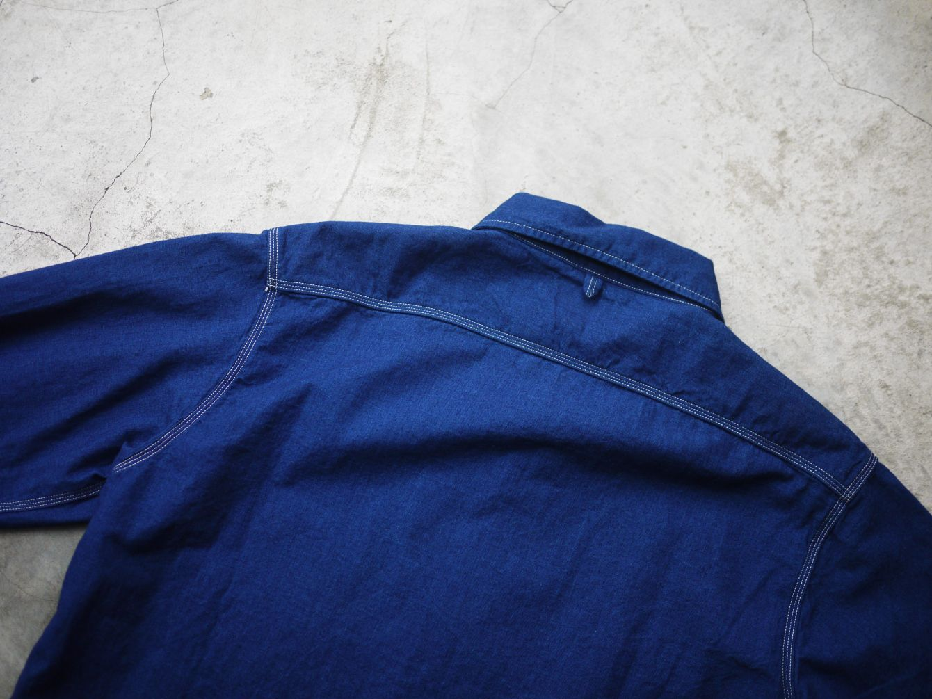 Classic Works:【我的探索之路-Burgus Plus Lot.300 Beta Chambray Work Shirt 】 7