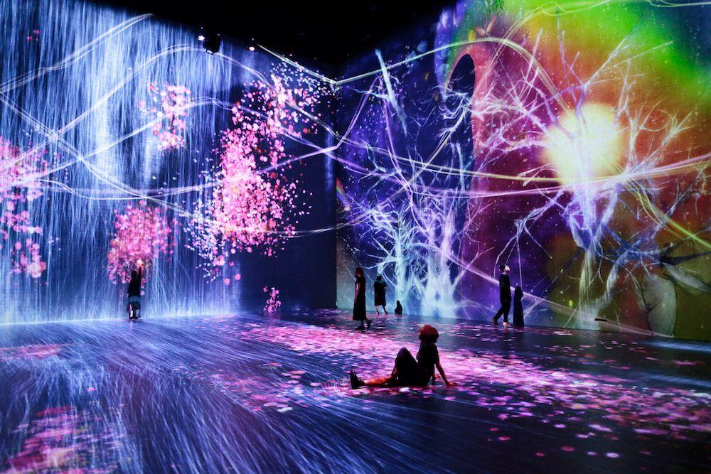 # 如夢似幻般的互動數位藝術展「Beyond the limits」:於巴黎 La Villette 公園展出 8