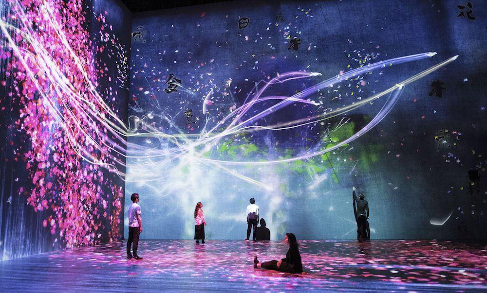# 如夢似幻般的互動數位藝術展「Beyond the limits」:於巴黎 La Villette 公園展出 7