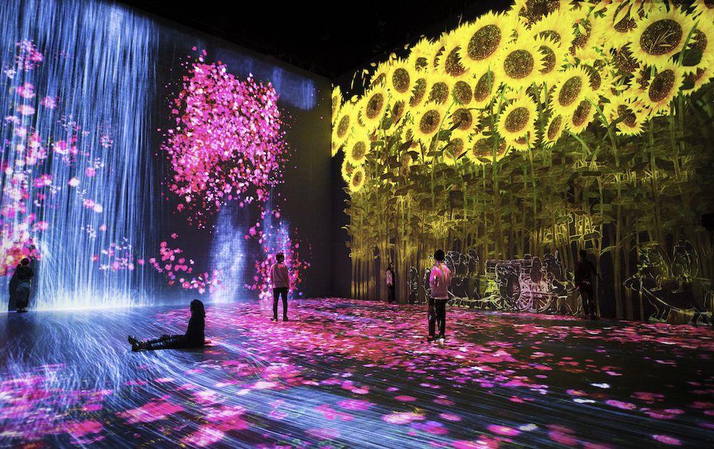 # 如夢似幻般的互動數位藝術展「Beyond the limits」:於巴黎 La Villette 公園展出 3