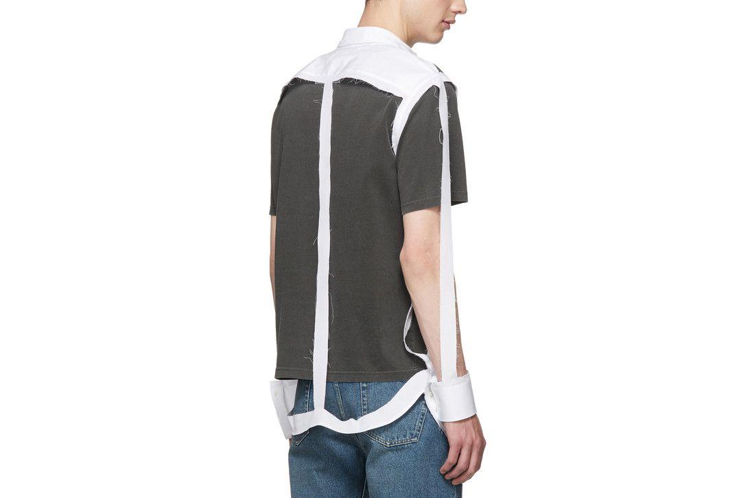 # Maison Margiela:一鳴驚人的白色骨架襯衫款推出! 2