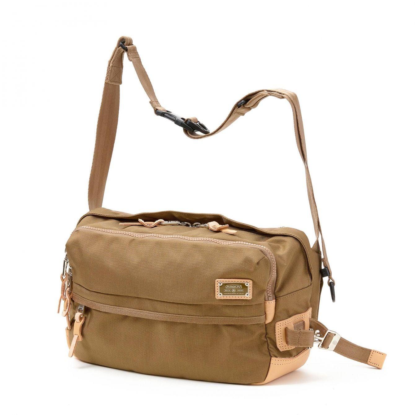 # 「AS2OV」包袋品牌獨家彈道尼龍:2WAY SHOULDER & BODY BAG 新品上市 4