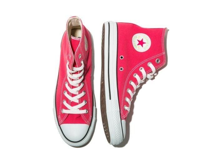 # AURALEE × Converse × Beauty&Youth:螢光色系聯名鞋款即將登場 7