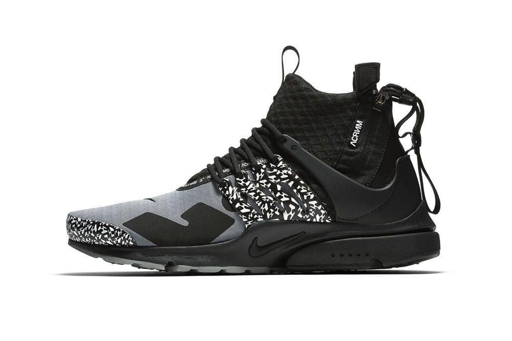 ACRONYM × Nike Air Presto Mid