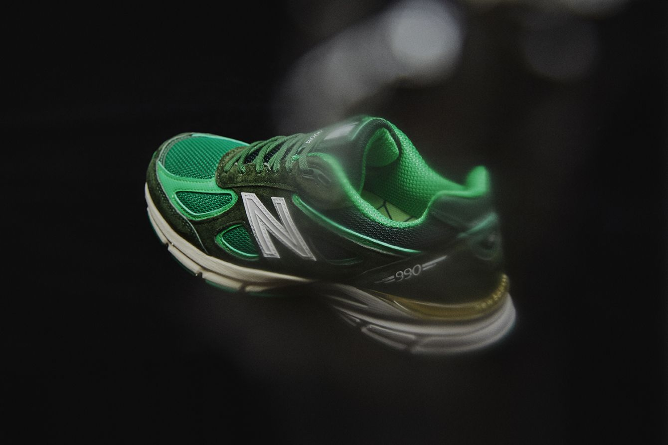 "# New Balance 990v4 × Mita Sneakers:""Bouncing frog"" 青蛙配色即將登場 4"