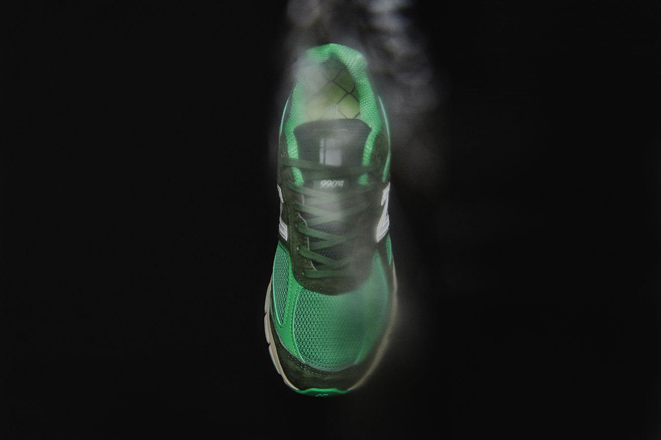 "# New Balance 990v4 × Mita Sneakers:""Bouncing frog"" 青蛙配色即將登場 5"