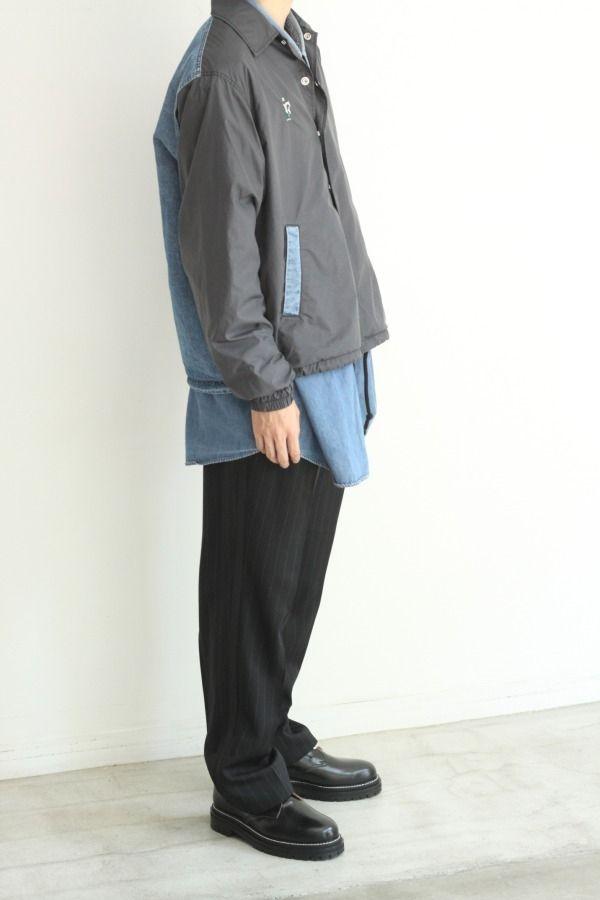 # FACETASM 設計師落合宏理主導之個人品牌「F」:新作拼接教練外套釋出 8