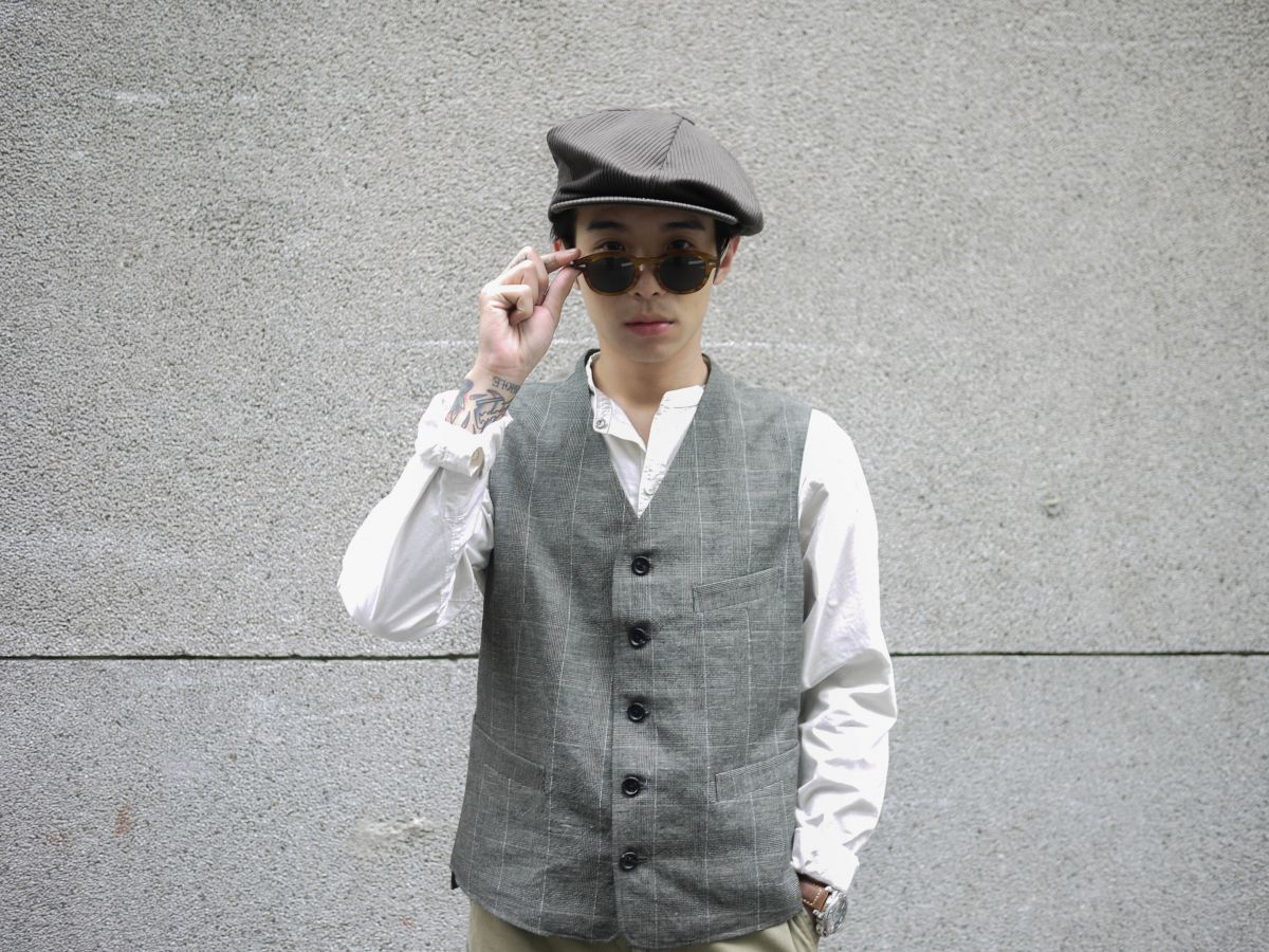Classic Works:【我的探索之路-Glen Check Old Joe & Co. Artisan Sack Jacket / Artisan Sack Vest / Artisan Sack Vest Herringbone】 5