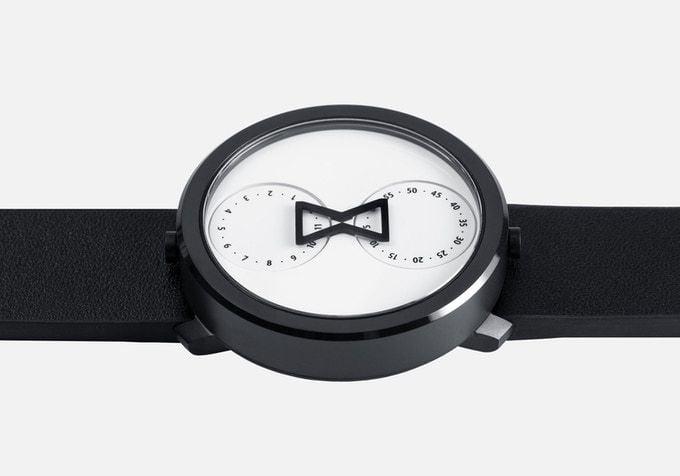 # 跳脫傳統指針概念的極簡化手錶:NU:RO - Minimalist Analog Watch 4