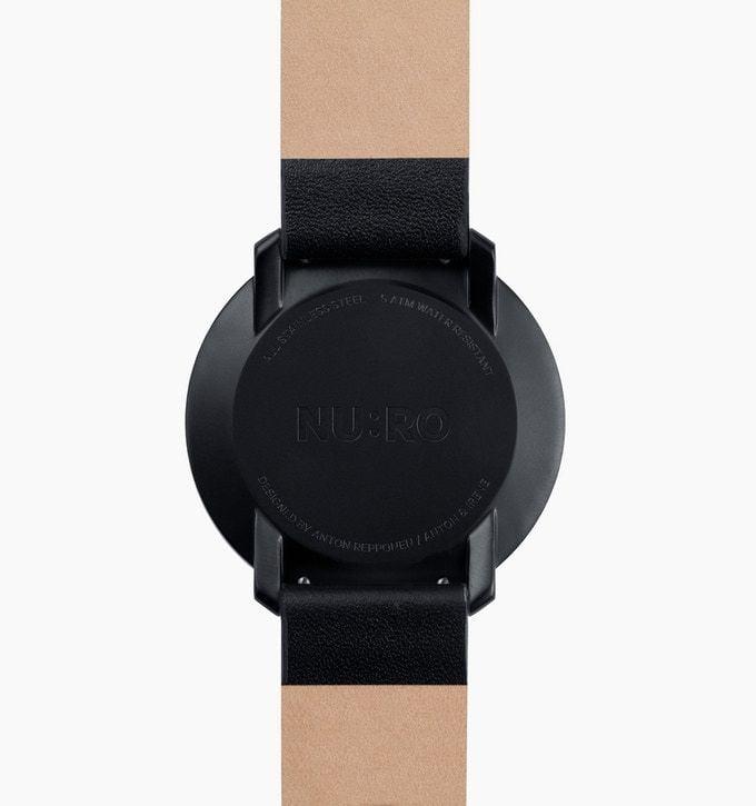 # 跳脫傳統指針概念的極簡化手錶:NU:RO - Minimalist Analog Watch 6