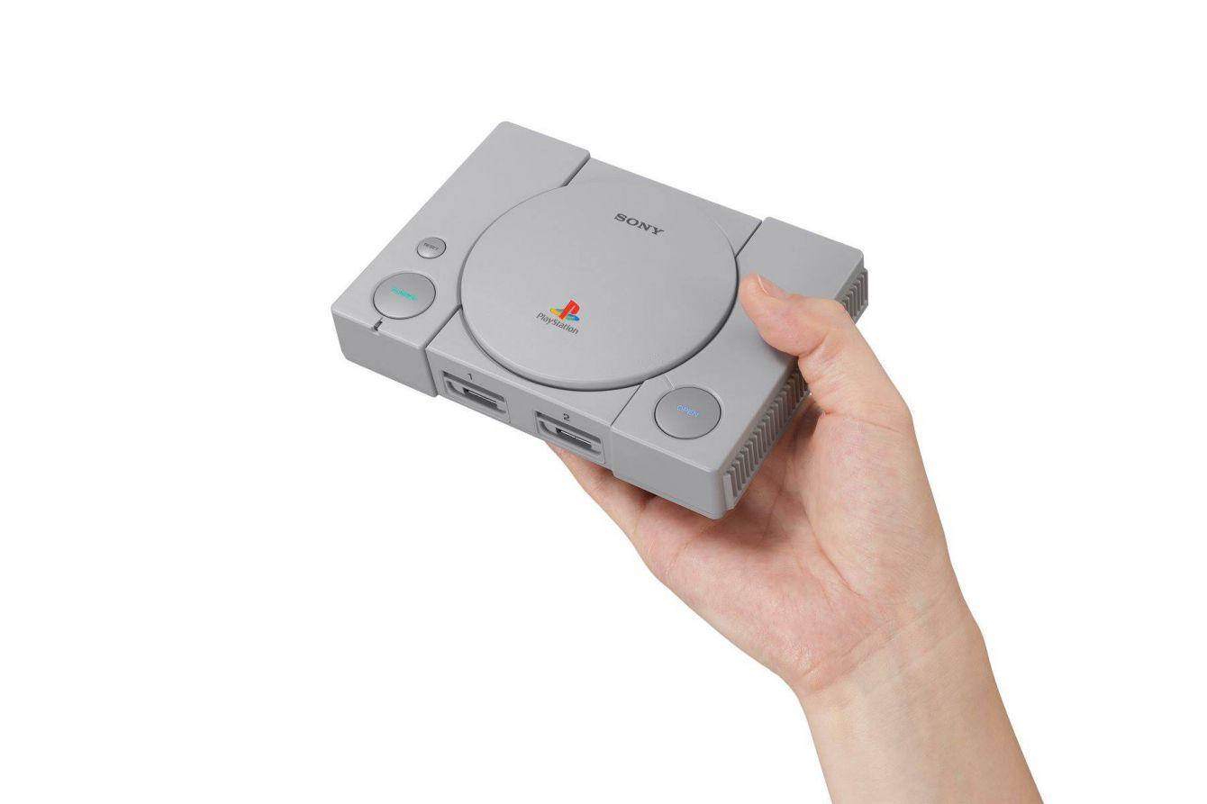 # SONY PS 電玩主機也來懷舊風:PLAYSTATION®CLASSIC 復刻版主機年底登台上市 1