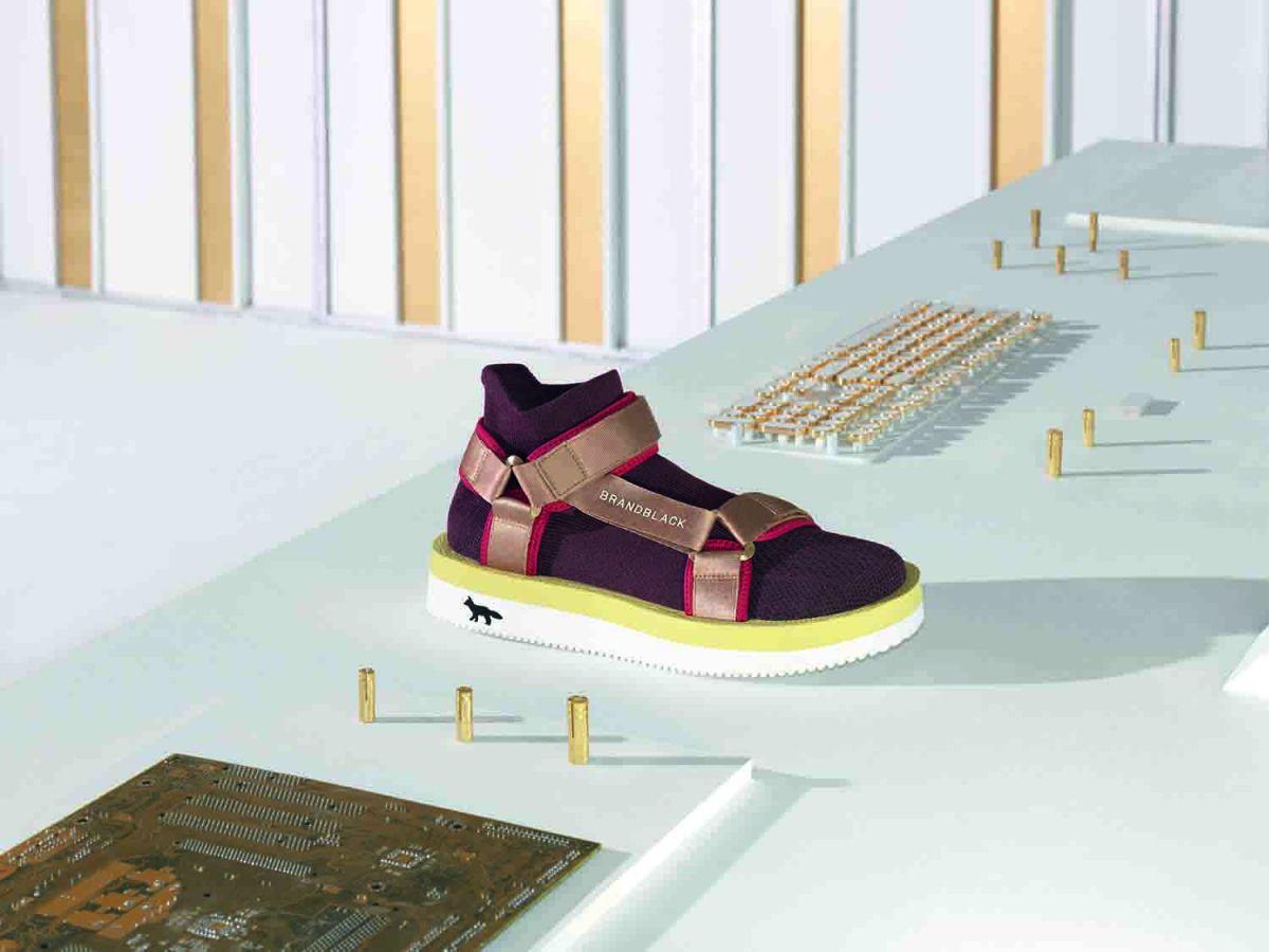 # Maison Kitsuné × Brandblack:聯名鞋款即將上架 5