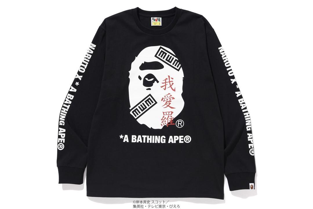 # 火影猿人登場:BAPE ×《 NARUTO 火影忍者》聯名系列即將上架 11