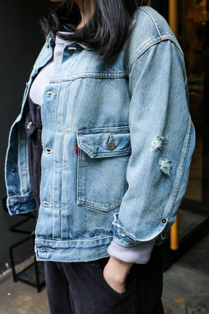 # Shop Staff Snap:穿上燈芯絨吊帶褲,一展女子工裝系輪廓! 1
