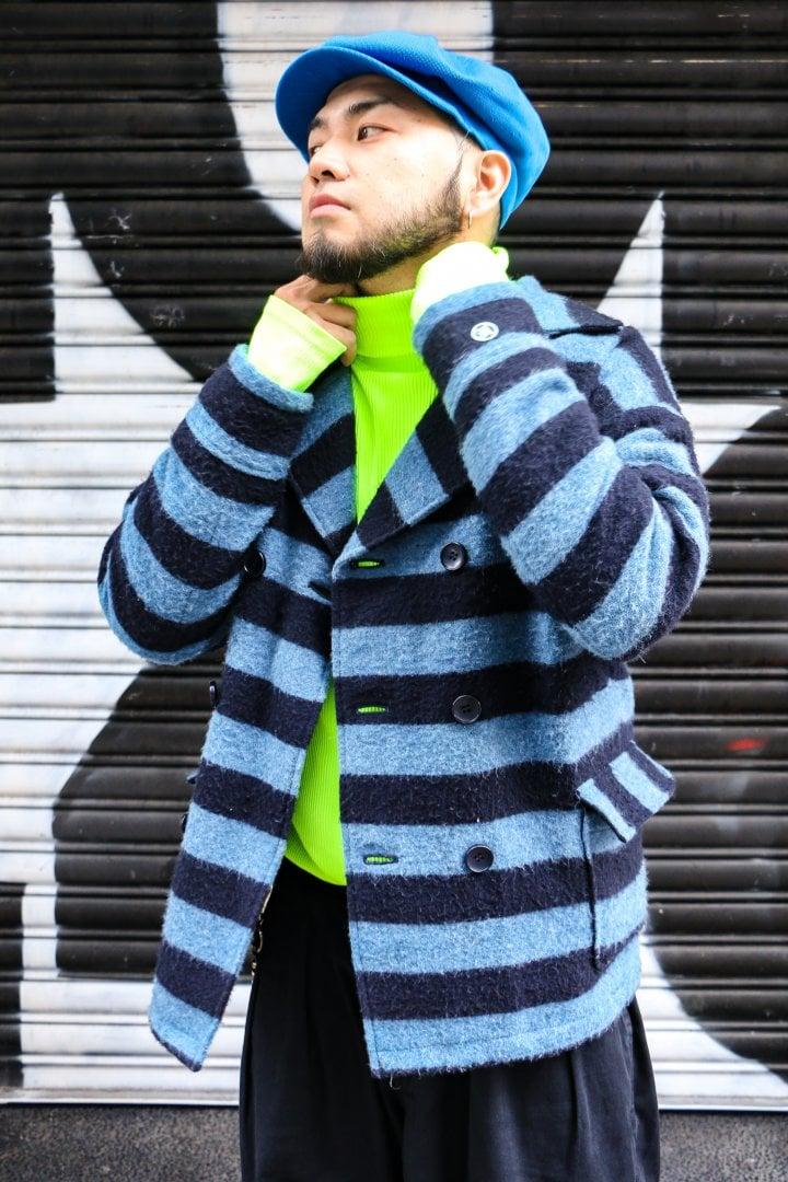 # Shop Staff Snap:大膽螢光撞擊闊身橫紋 2