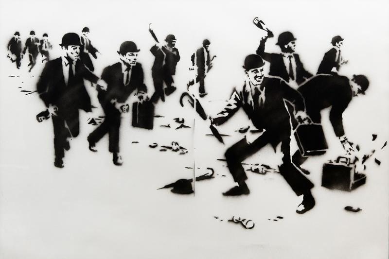 # 叛逆有理 :Banksy 多幅作品將於本月來台展出 9