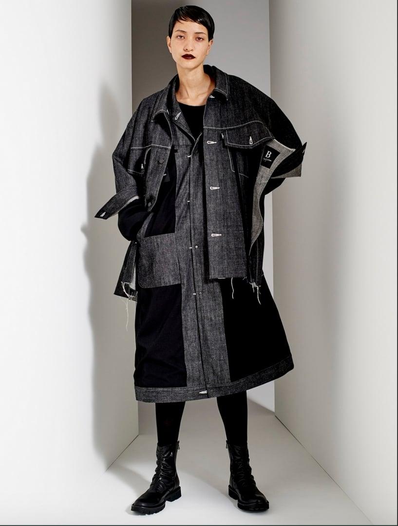 #B Yohji Yamamoto 2019秋冬形象公開:大衣你敢穿嗎? 11