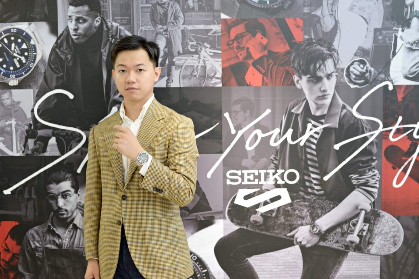 # 步調再快,也要給自己留有保存風格的機會:關於 SEIKO 5 Sports 的次世代展示 9