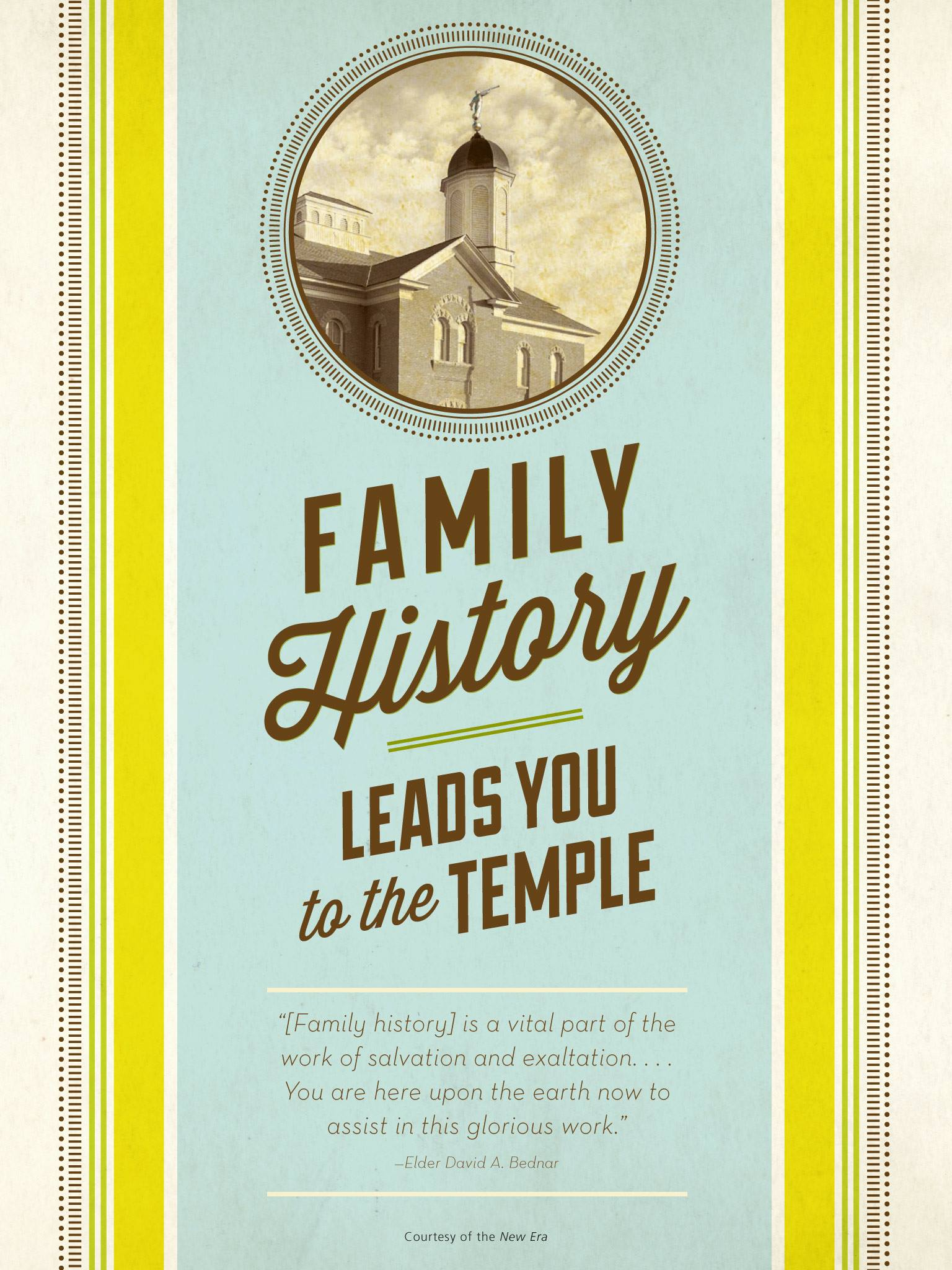 Family History Leads To The Temple