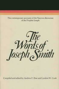 """Words of Joseph Smith."" Recommended books by LDS Answers"