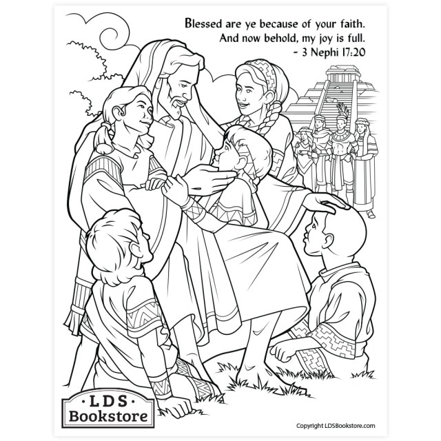 My Joy Is Full Coloring Page - Printable
