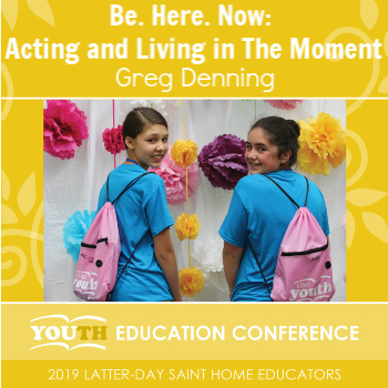 Be. Here. Now: Acting and Living in the Moment