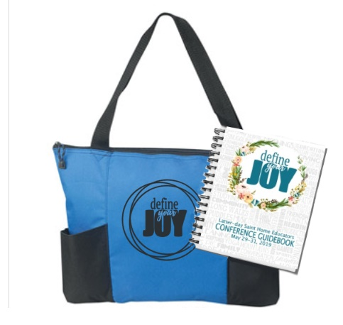 Logan Home Education Conference Guidebook with Tote Bag