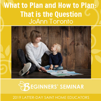 What to Plan and How to Plan: That is the Question