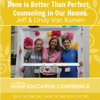 Done is Better Than Perfect: Counseling in Our Homes