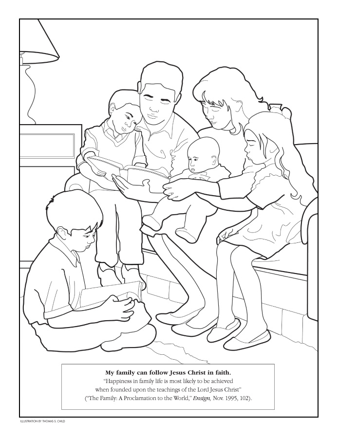 page lds lesson ideas