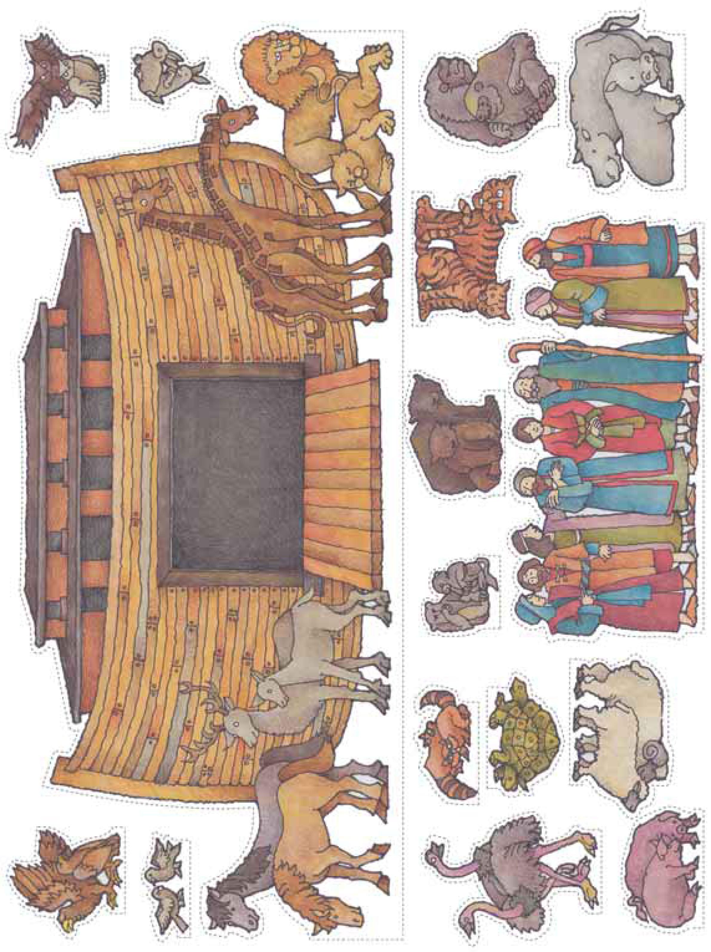 Noah S Ark Cut Outs