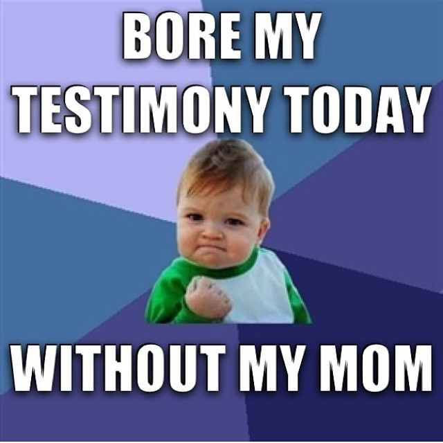 22 Hilarious Baby Mormon Memes LDS SMILE
