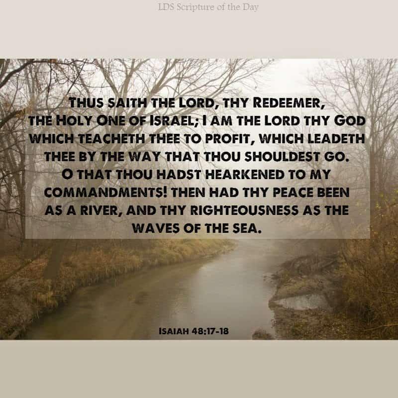Isaiah 48.17-18