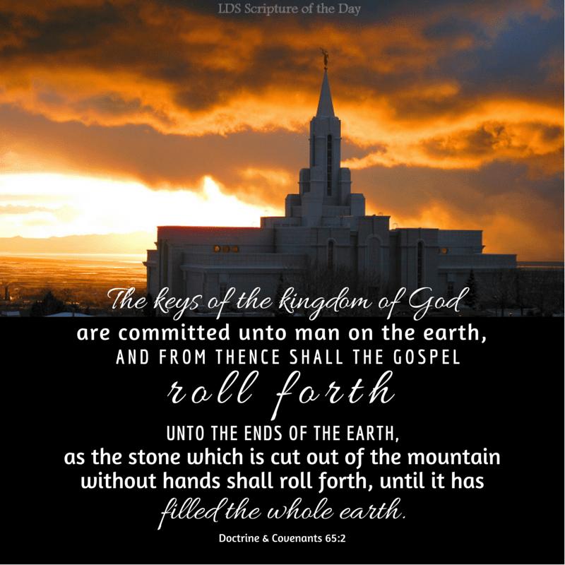 Doctrine & Covenants 65:2