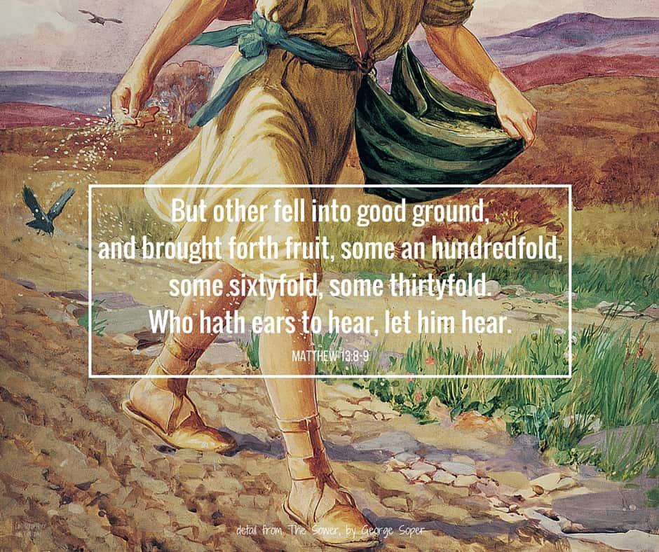 Matthew 13:3-9