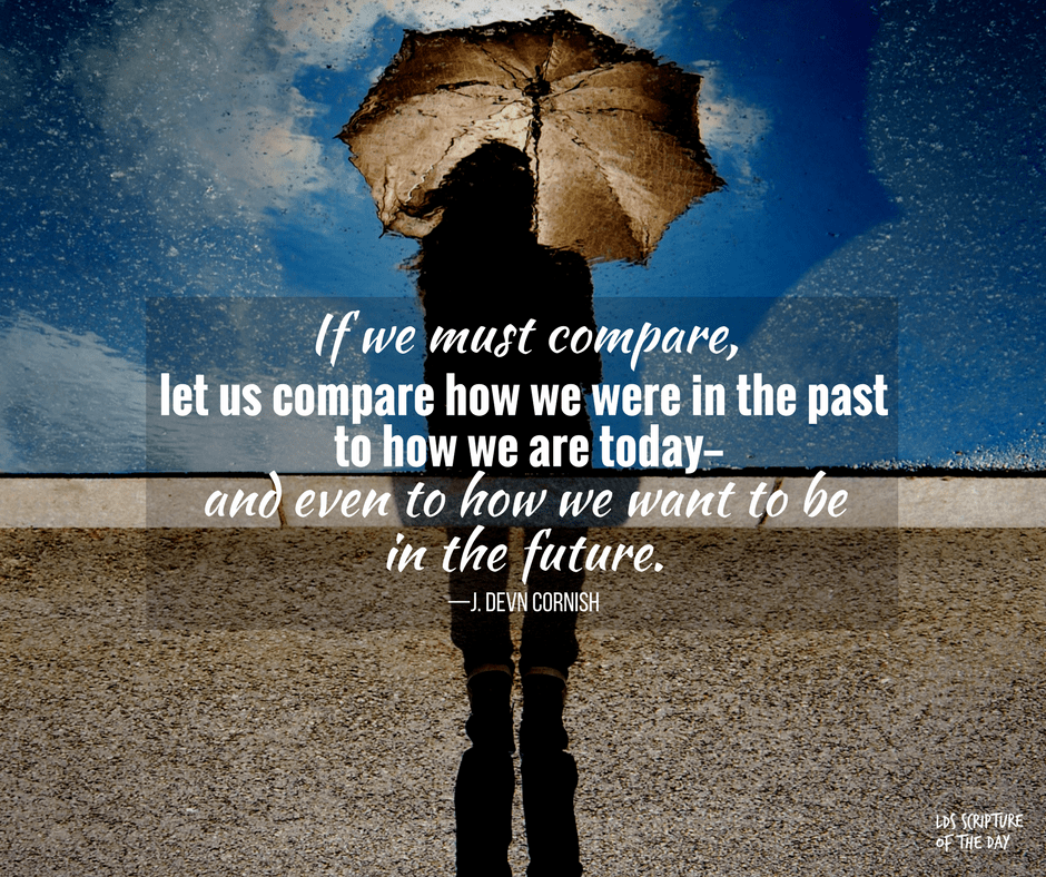 If we must compare