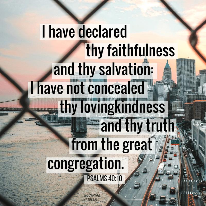 Psalms 40:10