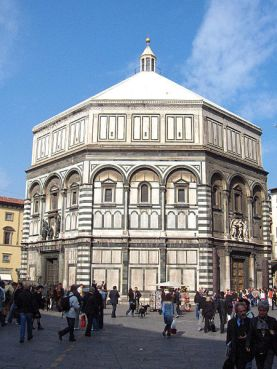 St. Giovanni Baptistery in Florence, Italy