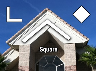 Square shape in LDS Chapel architecture