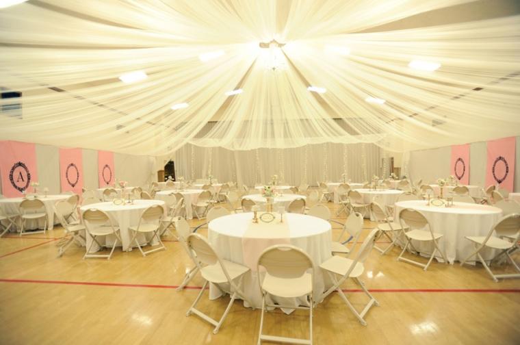 LDS Cultural Hall Reception Wedding