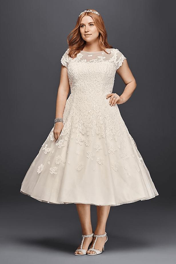 25 Modest Plus Size Wedding Dresses