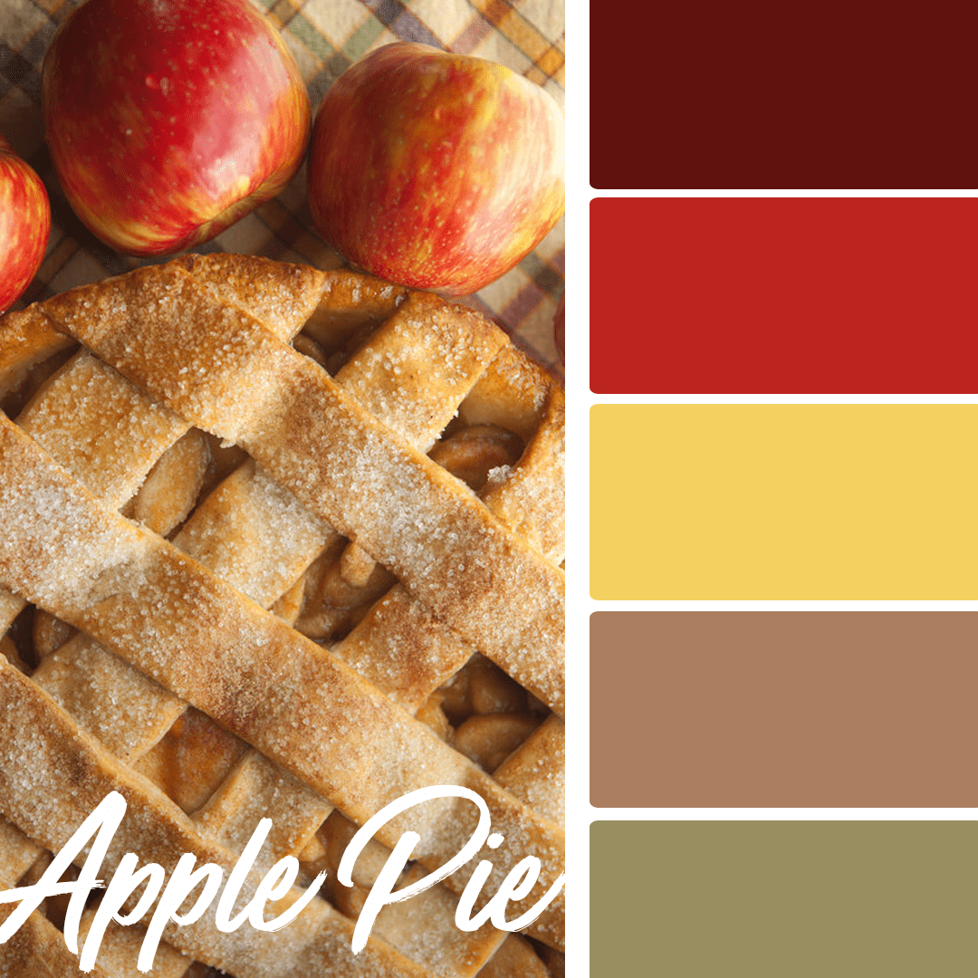 Apple Pie - 25 Fall Wedding Colors Any Bride & Groom Will Love