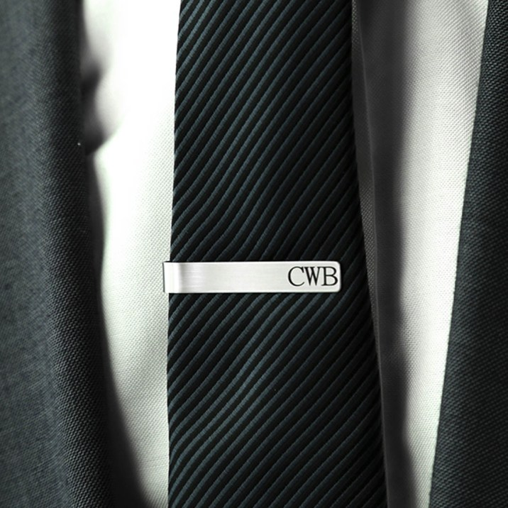 Personalized Tie Bar - LDS Wedding Gifts