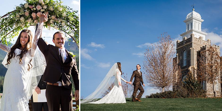 From a New Faith to a Vintage Wedding | Gracie + Tyson