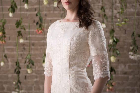 4 Modest Wedding Dress Designers - Rachel Elizabeth
