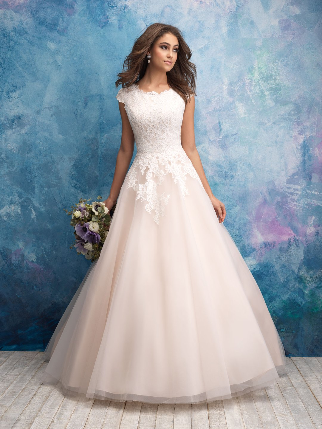 25 Modest Ball Gown Wedding Dresses - 12